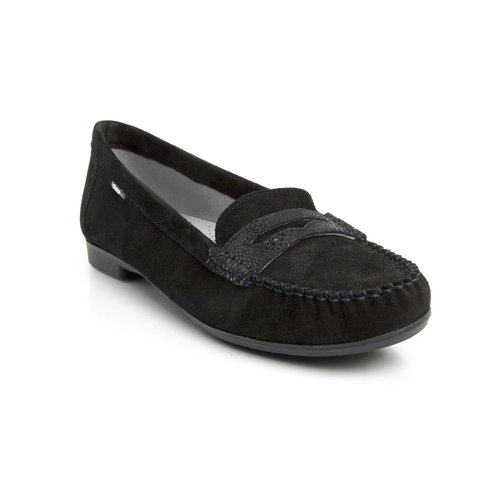 Batz BABI mocassin black-mix