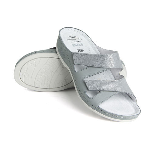 Batz ENI Slippers silverblue