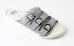 Batz 3 BCS Premium slippers velours grey-mix