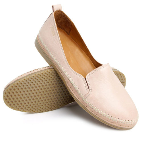 Batz EMMA leather loafers nude
