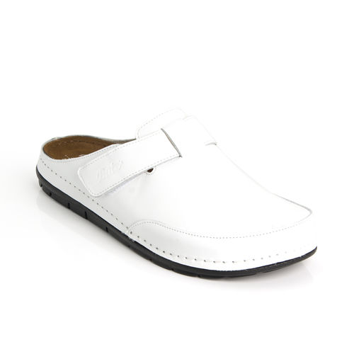 Batz ZOLTAN velcro slippers white